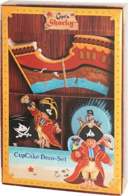 Sada na zdobení muffinů – kapitán Žralok - Birkmann