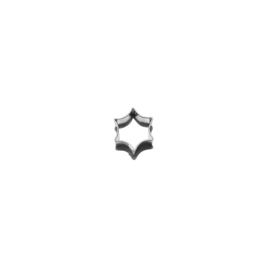 Vykrajovátko oblá hvězda 20x20 mm - Smolík