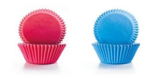 Papírové košíčky modré a růžové - Ibili