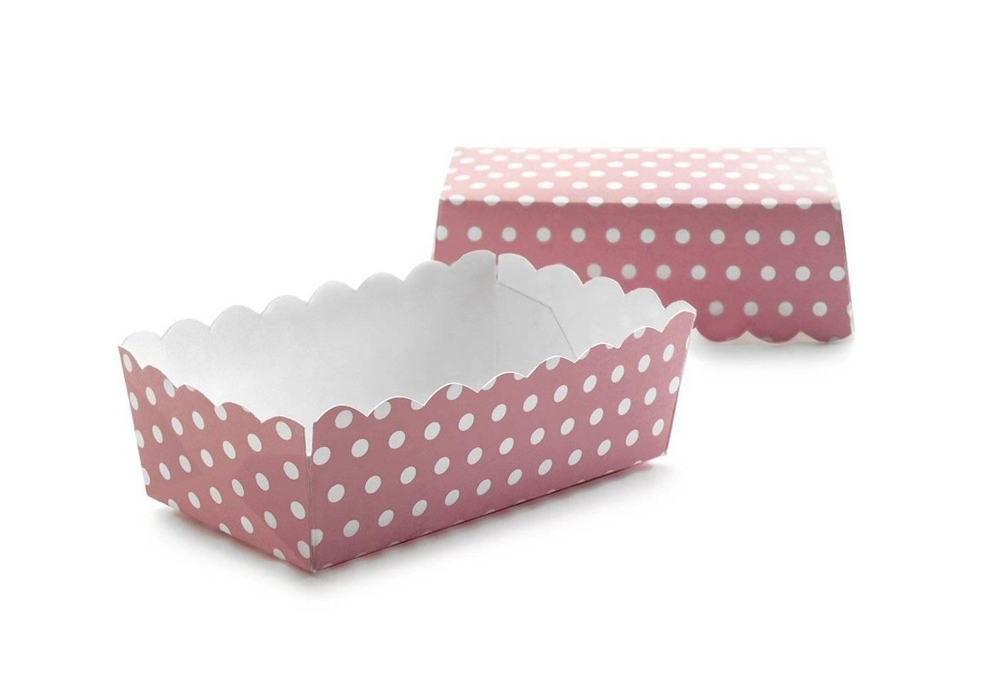 Papírová krabička růžová - Ibili