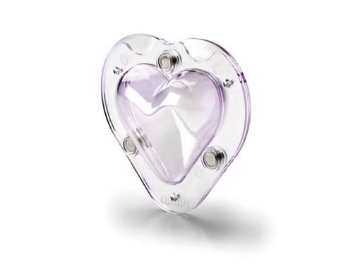3D forma srdce 9cm - Ibili