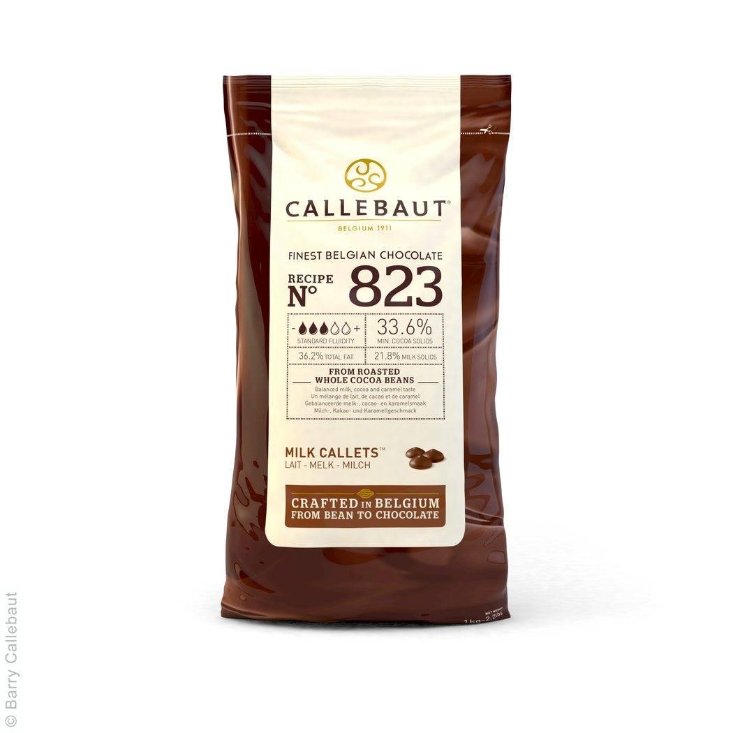 Čokoládová poleva mléčná -1kg - Callebaut