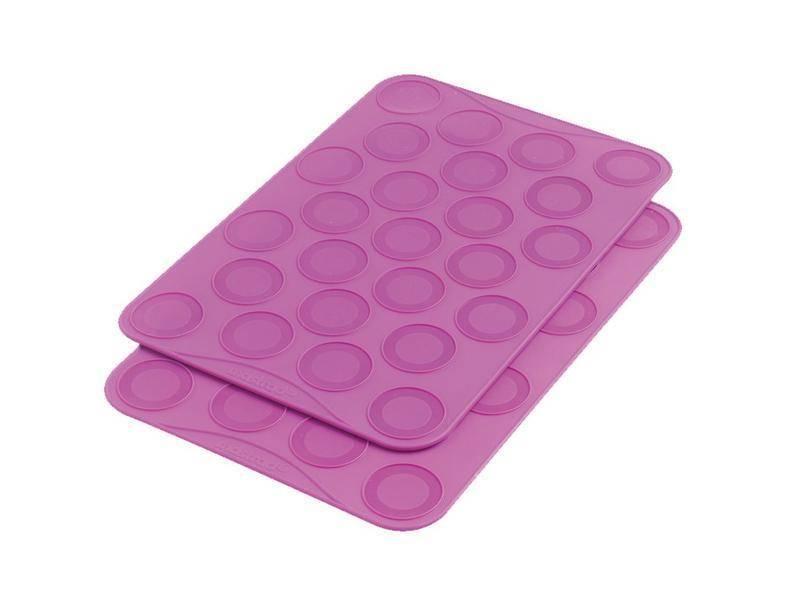 Silikonové podložky na Makronky 2ks -fialové - Mastrad