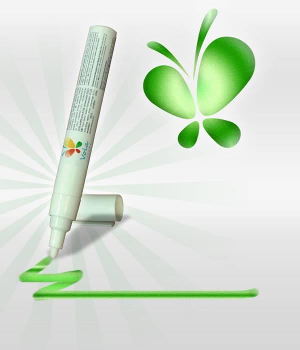 Fix s jedlou barvou 45ml - zelená, perleťová - Vola colori