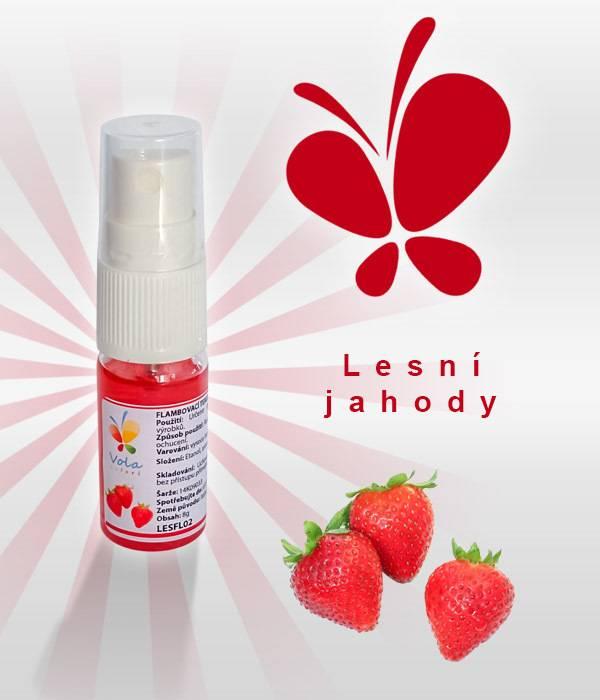 Aroma ve spreji 8g - lesní jahody - Vola colori