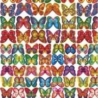 Motýlci z jedlého papíru 20ks - Modecor