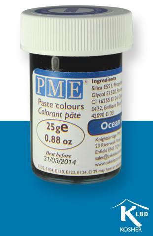 PME gelová barva - oceánově modrá - PME