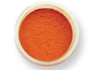 Prachová barva matná – oranžová 2g - PME