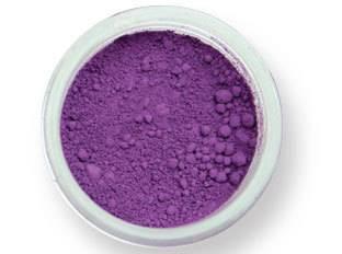 Prachová barva matná – fialová 2g - PME