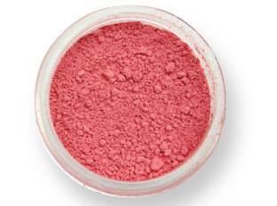 Prachová barva matná – jahodově červená 2g - PME