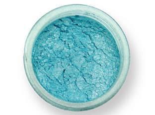 Prachová barva lesklá – světle modrá 2g - PME