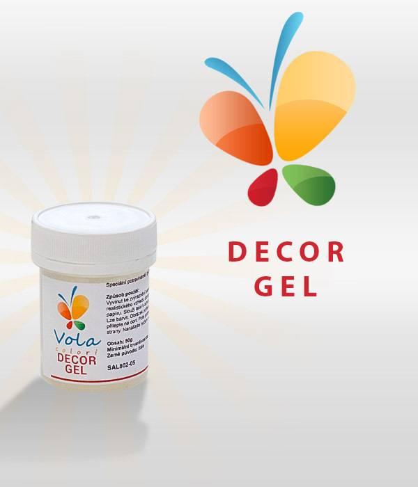 Decor Gel na jedlý papír 50g - Vola colori