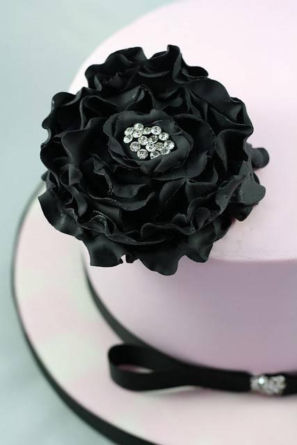 Potahovací a modelovací hmota - Black Velvet Vanilka 0,7Kg - Smartflex Velvet