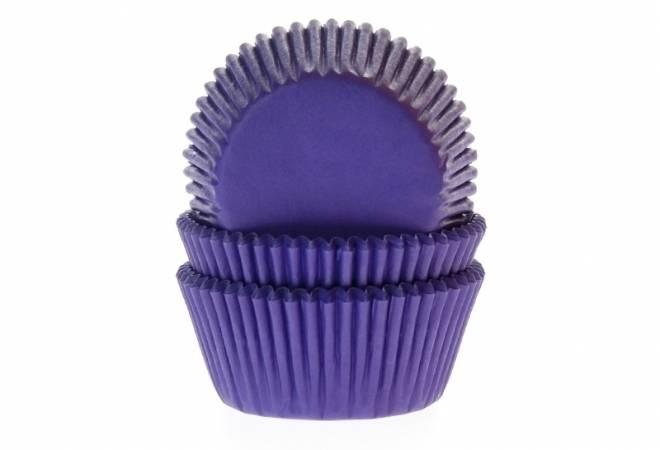 Košíčky na muffiny fialové 50ks - House of Marie