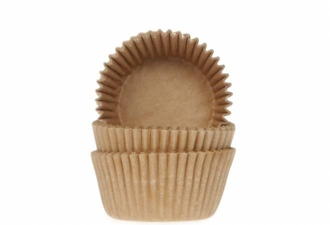 Cukrářský košíček přírodní mini 60ks - House of Marie