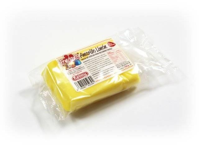 Potahovací hmota 100 g - citrónově žlutá - Kelmy