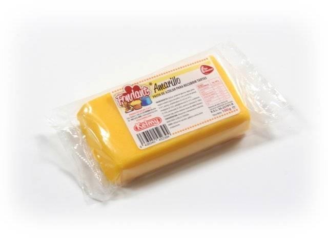 Potahovací hmota 100 g - žlutá - Kelmy
