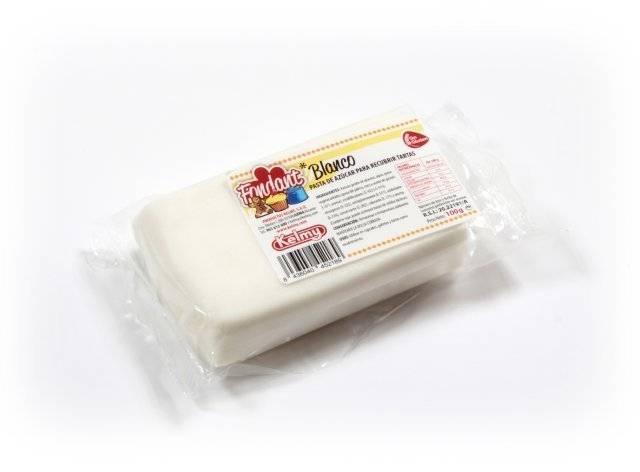 Potahovací hmota 100 g - bílá - Kelmy