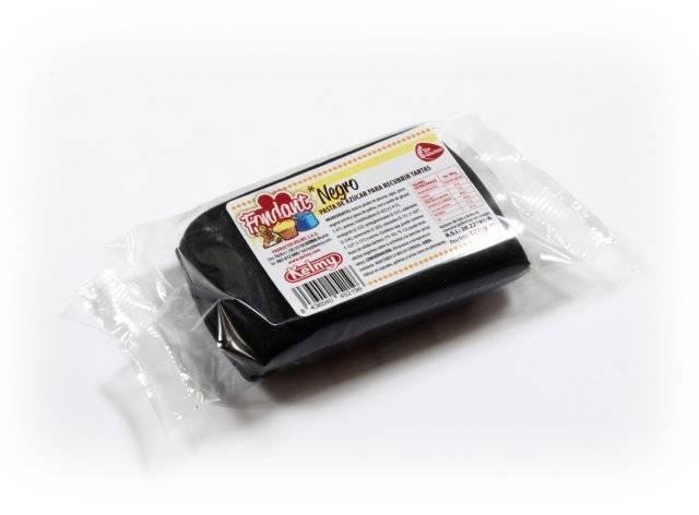 Potahovací hmota 100 g - černá - Kelmy