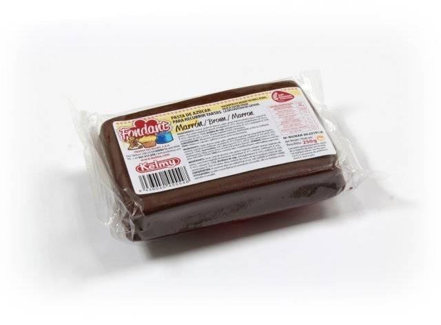 Potahovací hmota 250 g - hnědá - Kelmy