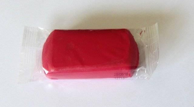 Potahovací hmota 250 g - malinová - Kelmy