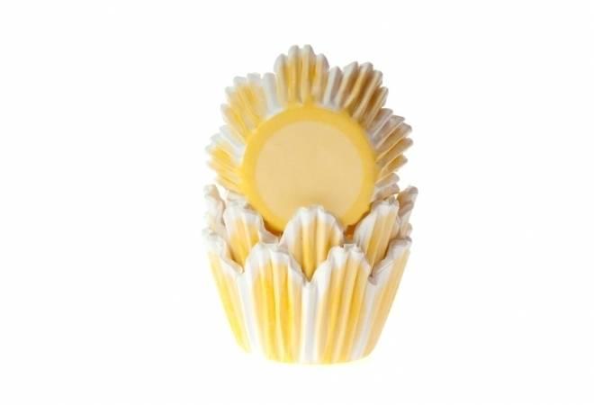 Košíčky na muffiny žlutý tulipán 50ks - House of Marie
