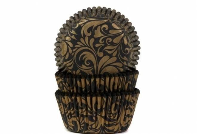 Košíček na muffiny oriental zlatý - House of Marie