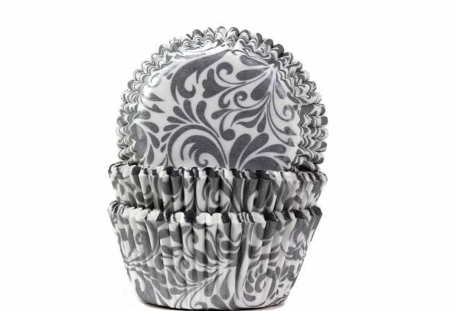 Košíček na muffiny oriental stříbrný - House of Marie