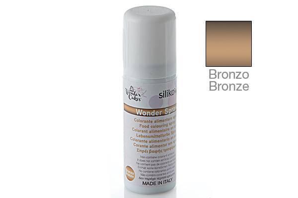 Barva ve spreji 50ml - bronzová - Silikomart