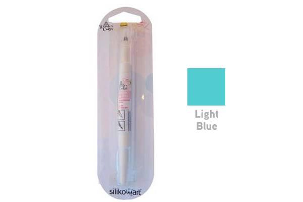 Barva ve štětci - světle modrá - Silikomart