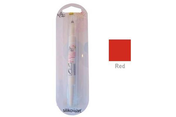 Barva ve štětci - červená - Silikomart