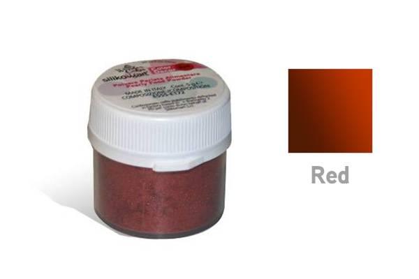 Prachová barva 5g- perleťová červená - Silikomart