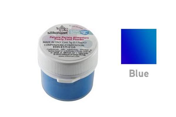 Prachová barva 5g- perleťová modrá - Silikomart