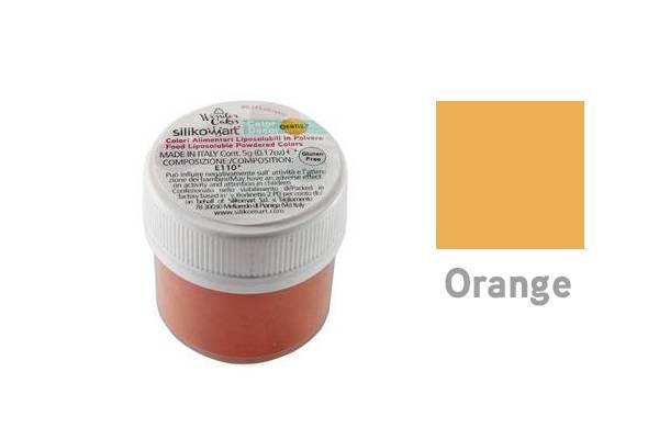Prachová barva 5g - oranžová - Silikomart