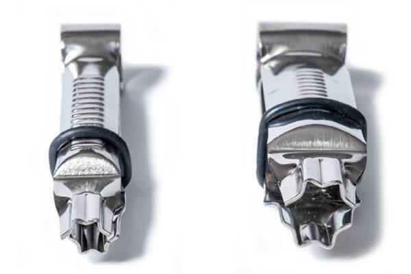 zdobící kleště nerezové 12-17mm - Silikomart