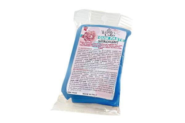 Gum pasta 100g - modrá - Silikomart