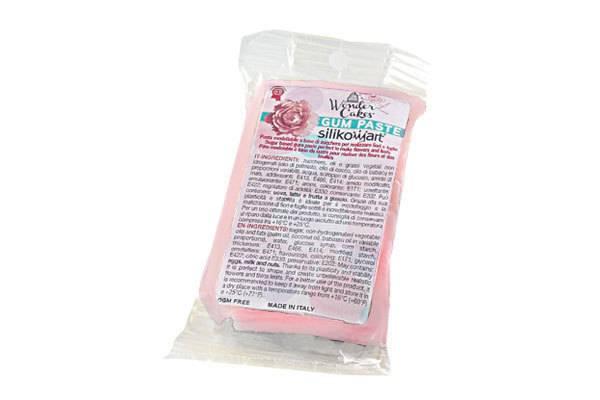 Gum pasta 100g - světle růžová - Silikomart