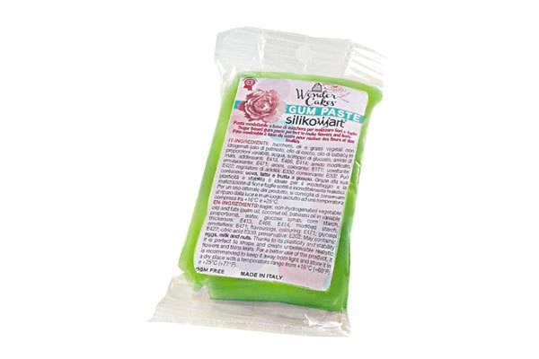 Gum pasta 100g - světle zelená - Silikomart