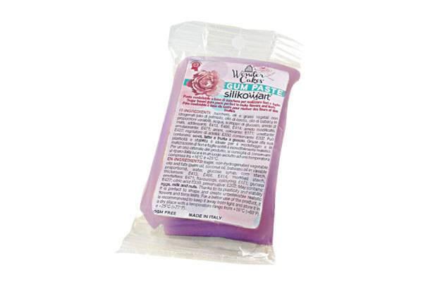 Gum pasta 100g - fialová - Silikomart