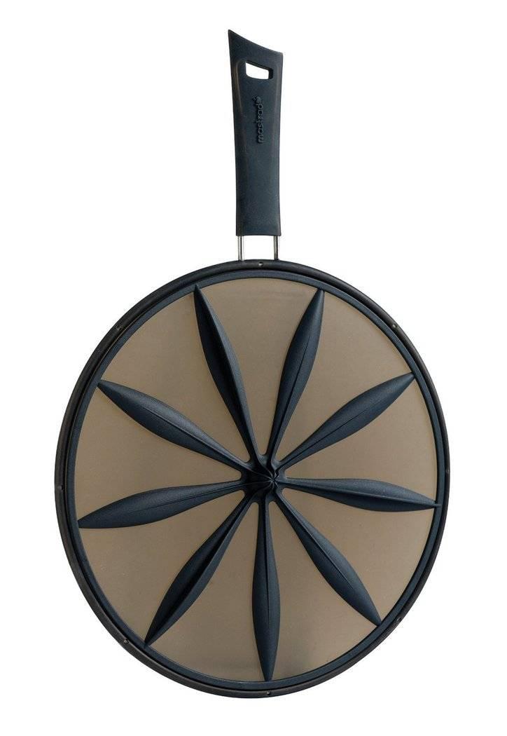 Silikonová poklička 2v1 28cm - černá - Mastrad