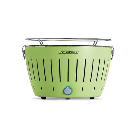 LotusGrill Limetková zelená+ ZDARMA dřevěné uhlí 1kg + podpalovací gel - Lotus