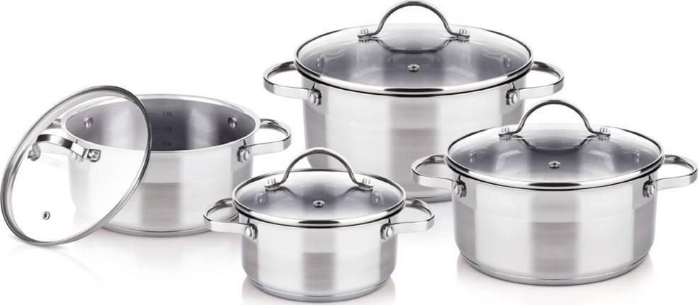 Nerezoví nádobí set 8ks ELEGANT - Lamart