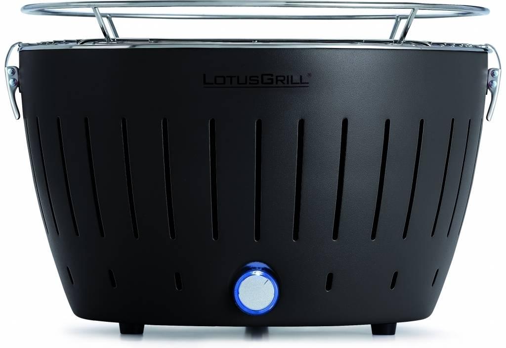 LotusGrill Antracitová šedá+ ZDARMA dřevěné uhlí 1kg + podpalovací gel - Lotus