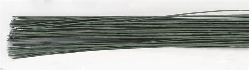 Culpitt Aranžovací drát č.28 -50 ks tmavě zelený -