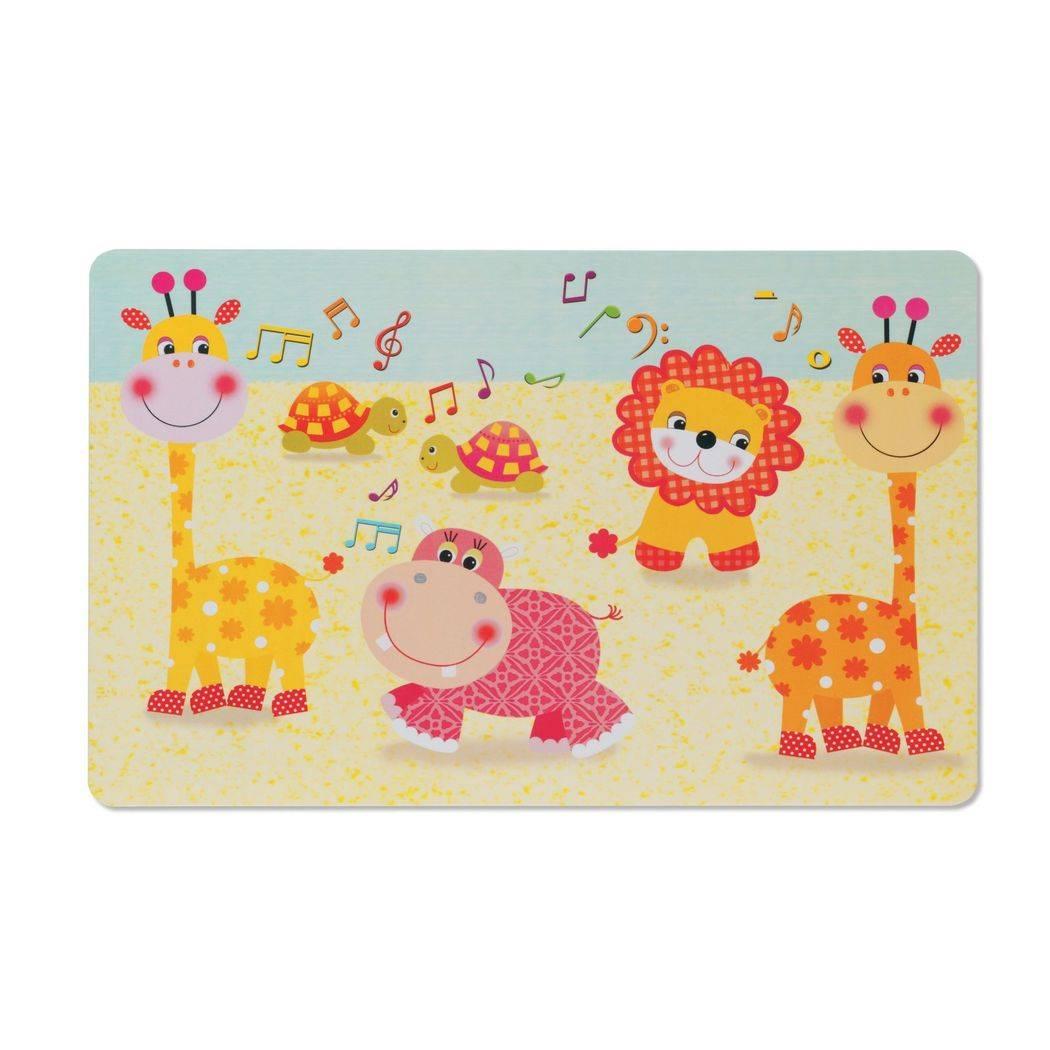 Prostírání pro děti zvířátka 43,5x28,5cm KL 15101 - Kela
