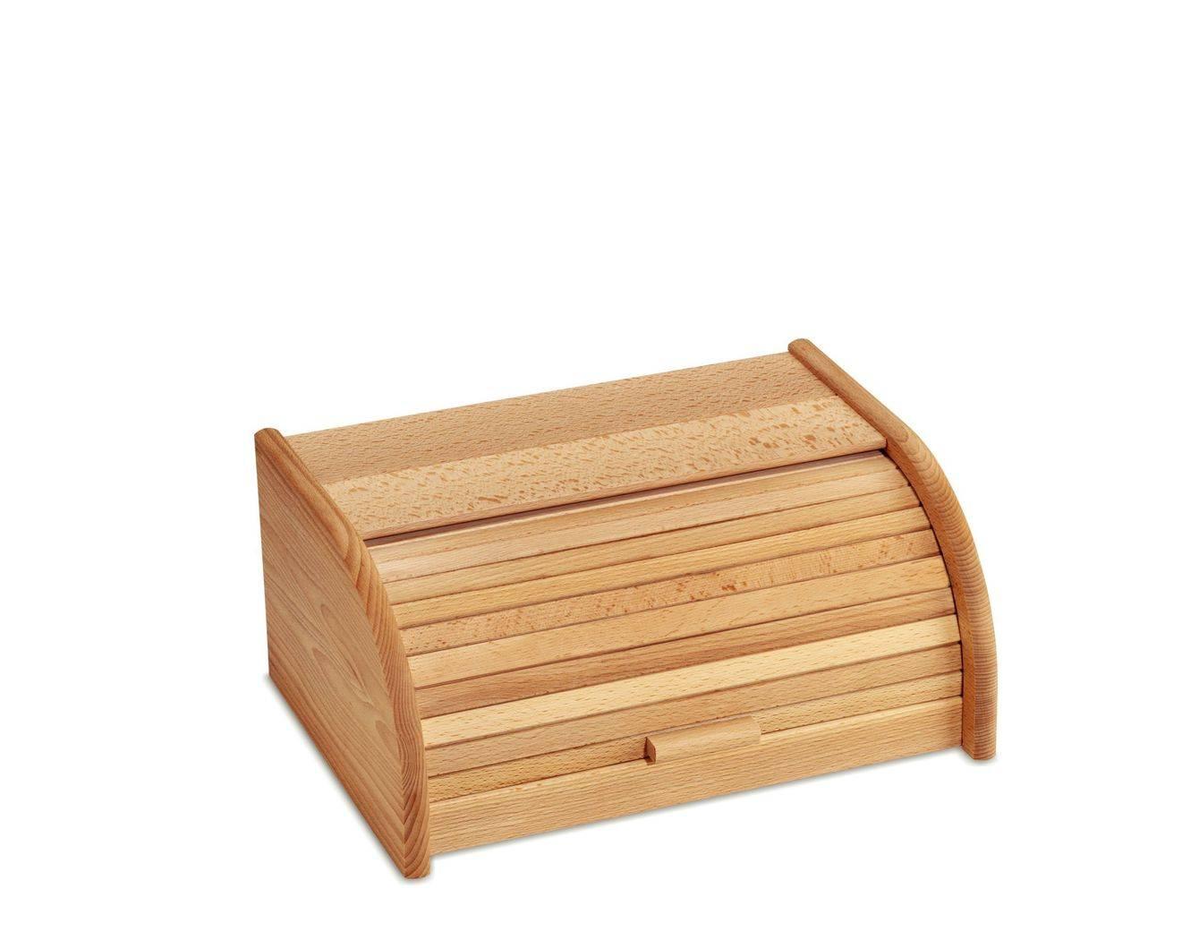 Dřevěný chlebník 39.5 x 30 x 17.5 cm - Kela