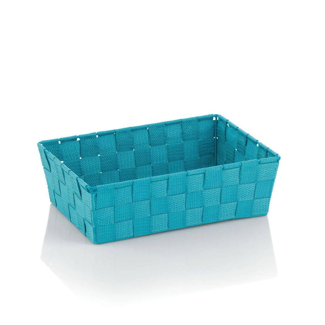 Koš ALVARO tyrkysová 29,5x20,5x8,5cm KL-23039 - Kela