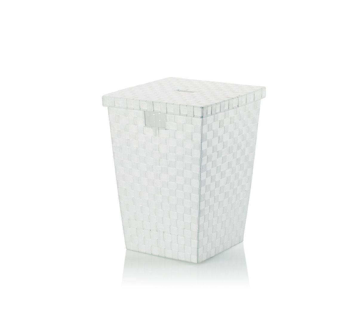 Koš na prádlo Alvaro bílý, 40x40x52cm KL-23071 - Kela