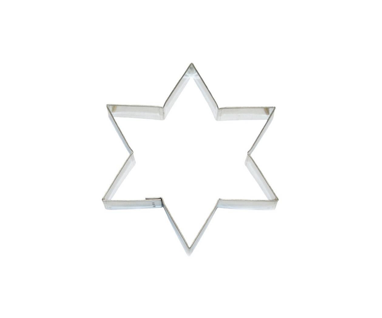 Vykrajovátko hvězda 127x110mm - Smolík