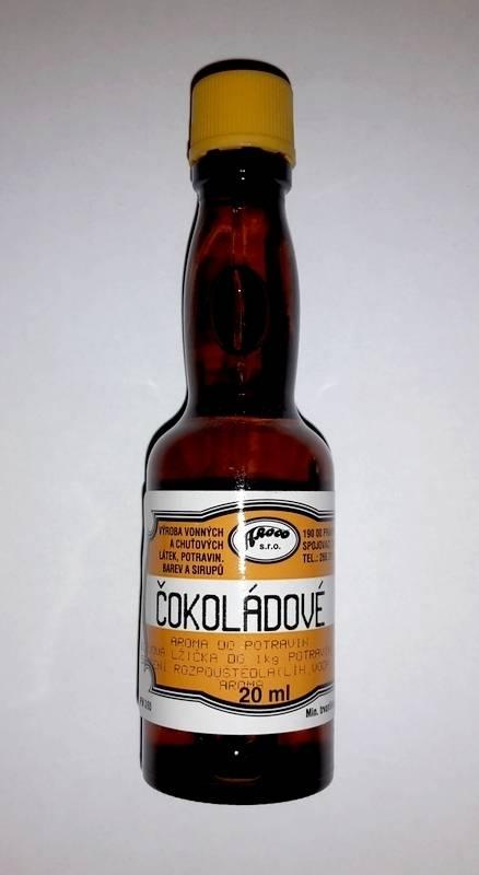 Aroma do potravin 20ml - Čokoládové - AROCO